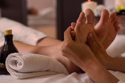 Ayurvedische Fußmassage bei Abhyanga in Kronberg